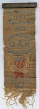 1895 LOUISVILLE, KENTUCKY * ILLINOIS GAR * RIBBON BADGE