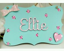 Handmade Letters Personalised Decorative Plaques & Signs