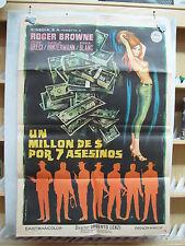 3774       UN MILLÓN DE DOLARES POR SIETE ASESINOS Umberto Lenzi