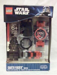 LEGO Star Wars Darth Vader Watch minifigure 2011 NEW 9001765 RETIRED