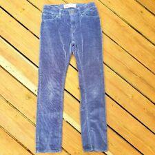 Levi Strauss Blue Corduroy Pants Boys Size 14 Levis 511 Slim Cotton Straight Leg