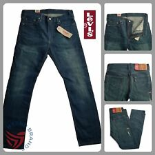 Levis 513 Straight Fit Jeans Mens  Authentic 100% Cotton Many Sizes NWT