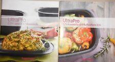 NEU Tupperware 2x Rezepthefte f. UltraPro Kasserolle 2L+ 3,5L+ 5,7L Auflauf 3,3L