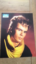 NIK KERSHAW 'yellow polo top' magazine PHOTO / Pin Up /Poster 11x8 inches