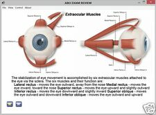 ABO REVIEW & EXAM PREPARATION, OPTICIAN STUDY CD (mobile app available)