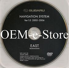 2006 2007 Subaru Tribeca B9 Outback Legacy & GT Limited Navigation DVD EAST Map
