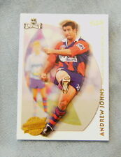 2001  RUGBY LEAGUE ACCOLADE  CARD  A5  ANDREW JOHNS, NEWCASTLE KNIGHTS