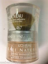 L'Oreal Bare Naturale Mineral Makeup - SAND BEIGE #467 NEW .
