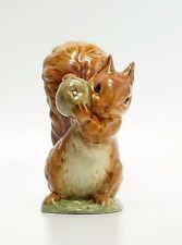 Beatrix Potter Beswick Squirrel Nutkin 1102/1 Gold Oval BP-2A BP2A BP 2A