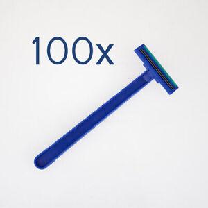 Figaro - 100x Einwegrasierer mit Doppelklinge / Einmalrasierer