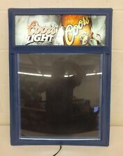 1999 Coors & Coors Light Illuminated Grease Pen Menu Board GREAT Fast Shipping