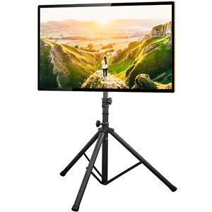 "Portable TV Tripod Floor Stand  Legs Foldable for 32""-70"" TV VESA 600x400mm"