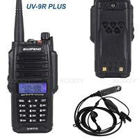 Baofeng UV-9R Plus Walkie Talkie IP67 Waterproof 12W VHF/UHF 128CH 6800mAh CTCSS
