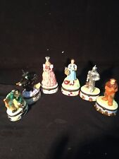 Wizard Of Oz Trinkets 6 Of The Main Characters W/Surprises In Each 1998 Turner
