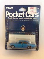 RARE Tomy TOMICA POCKET CARS No. F7 MERCEDES BENZ 450SEL in BLUE Japan Mint