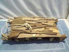 RARE Handmade Driftwood Sled/Sleigh, Beach/Cabin/Rustic Sculpture Decor, NICE!