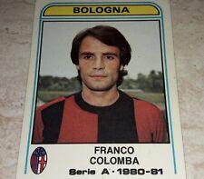 FIGURINA CALCIATORI PANINI 1980/81 BOLOGNA COLOMBA N° 69 ALBUM 1981