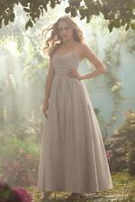 NWT Fairy Tale Alfred Angelo Disney Royal Maidens Moonlight Waltz Gray Gown 10