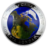 2017 Canada/'s Coast Atlantic Coast 1 oz Silver Colorized Proof $20 Coin SKU48841