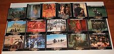Conan the Destroyer German lobby card set 16 fantasy Arnold Schwarzenegger