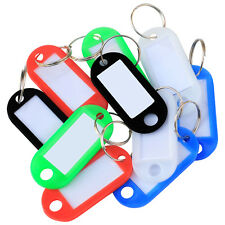TRIXES ZM13 Multi-Color Plastic Key Tags 50 Pieces