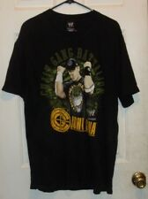 WWE by Hybrid from 2007 John Cena Chain Gang Battalion Wrestling T-Shirt size XL