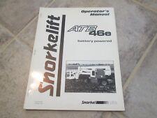 heavy equipment manuals books for snorkel boom lift for sale ebay rh ebay com Snorkel Parts Dealer Snorkel Manlift Parts
