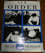 NEW ORDER - BLUE MONDAY - FACTORY - MANCHESTER - QUAD SIZE