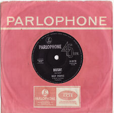 DEEP PURPLE - HUSH! / KENTUCKY WOMAN Ultrarare 1968 OZ PSYCH/HARDROCK Single! EX