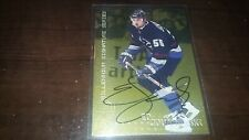 1999-00 BAP Be A Player Millennium Signature Series Gold ED JOVANOVSKI #234 AUTO