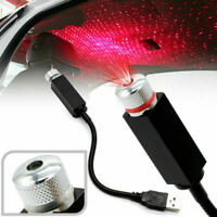 LED Car Interior Atmosphere Red Light USB Charge Floor Decor Lamp Accessories TR