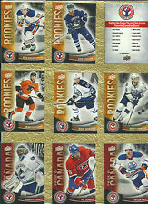 2011-12 UD NATIONAL HOCKEY CARD DAY - COMPLETE SET 17 CARDS - WITH SIDNEY CROSBY