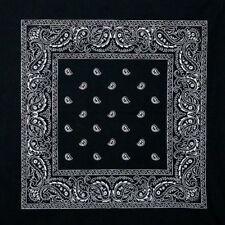 Bufandas y pañuelos de mujer de color principal negro 100% algodón