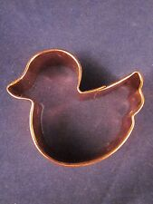 Copper Cookie Cutter HEAVY DUTY ~ Duck ~ EXCELLENT