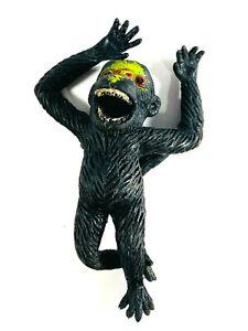 NICE Vintage Monkey Gorilla King Kong Rubber Jiggler Toy WOW