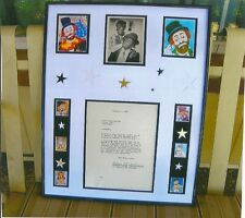 RED SKELTON & AMOS & ANDY signed document from 1947 one of a kind original & COA