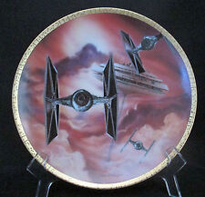 Star Wars Tie Fighter Cloud City Space Vehicles Plate Hamilton Collection 1995