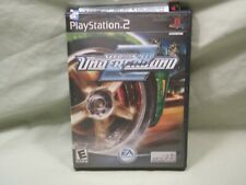 Need For Speed Underground 2 PS2 Playstation 2 Game Complete Black Label