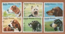 1988 guinea bissau - dogs
