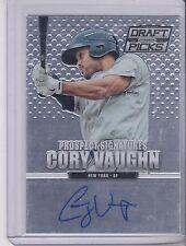 2013 Panini Prizm Perennial Draft Picks Cory Vaughn Prospect Autograph Mets