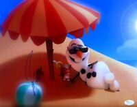 Josh Gadd Signed Autographed 11X14 Photo Frozen Olaf Voice on Beach JSA U76361