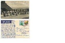 CPA PK AK CONGO BELGE DANSEURS DU RUANDA 1951