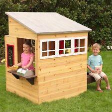 Kidkraft Modern Outdoor Wooden Cubby House - 00182