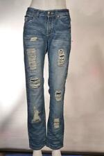 Urban Heritage Special Edition Skinny Factory Distressed Denim Jeans   28 x 32