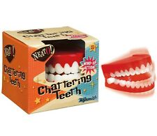 Chattering Teeth by Toysmith wind up dentures yakity yak classic novelty toy