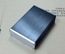 #1104 mini Aluminum case for headphone amplifier preamp chassis 115*40*168 Blank