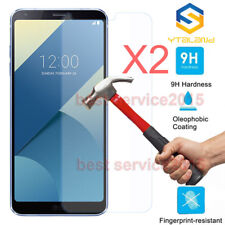 2Pcs 9H Premium Tempered Glass Film Screen Protector  For LG Q6 / Q6 Plus 2017