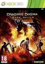 Xbox 360 Dragon 's Dragons Dogma Dark Arisen jeu pour Microsoft xbox360 NEUF