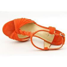 Ivanka Trump Hilly Women US 7.5 Orange Sandals Blemish  16670