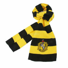 Harry Potter Hufflepuff House Cosplay Knit Wool Costume Scarf Halloween Costume